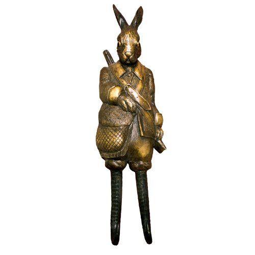 Rabbit Coat Hook - Quirky Johnny Darko Hooks by Belle Maison, http://www.amazon.co.uk/dp/B007O62HDQ/ref=cm_sw_r_pi_dp_XnS3rb06PKN0Q
