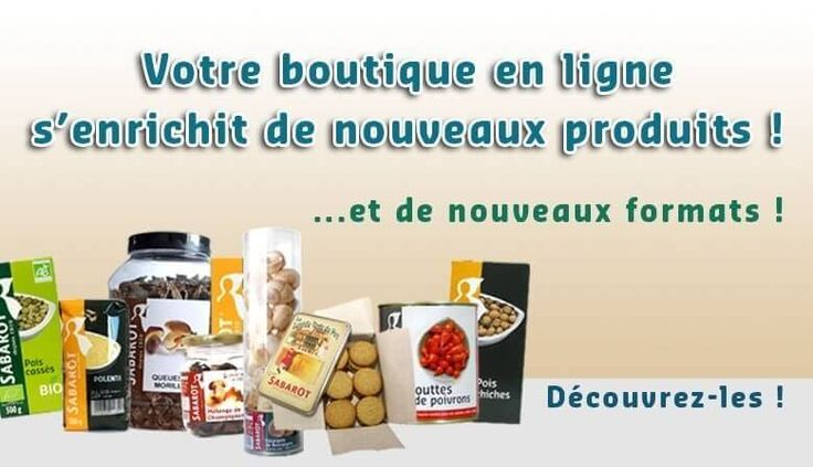Découvrez les nouveaux produits de Sabarot Shop