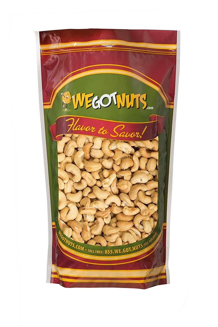We Got Nuts Roasted Salted Cashews 4 Lb Bulk Bag * Tried it! Love it! Click the image. : Fresh Groceries