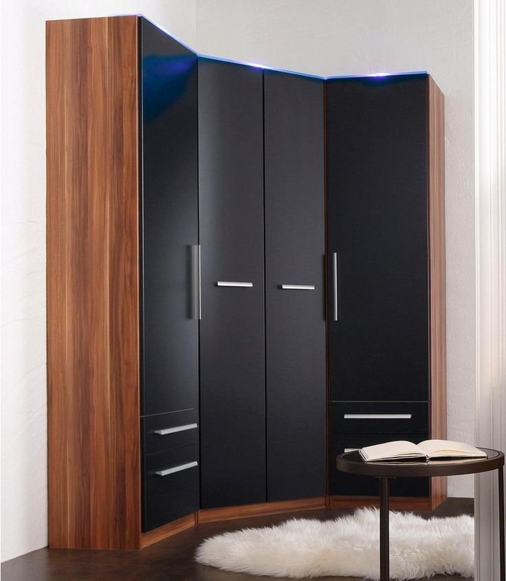 die besten 25 eckkleiderschrank ideen auf pinterest einbauschrank ber eck garderoben. Black Bedroom Furniture Sets. Home Design Ideas