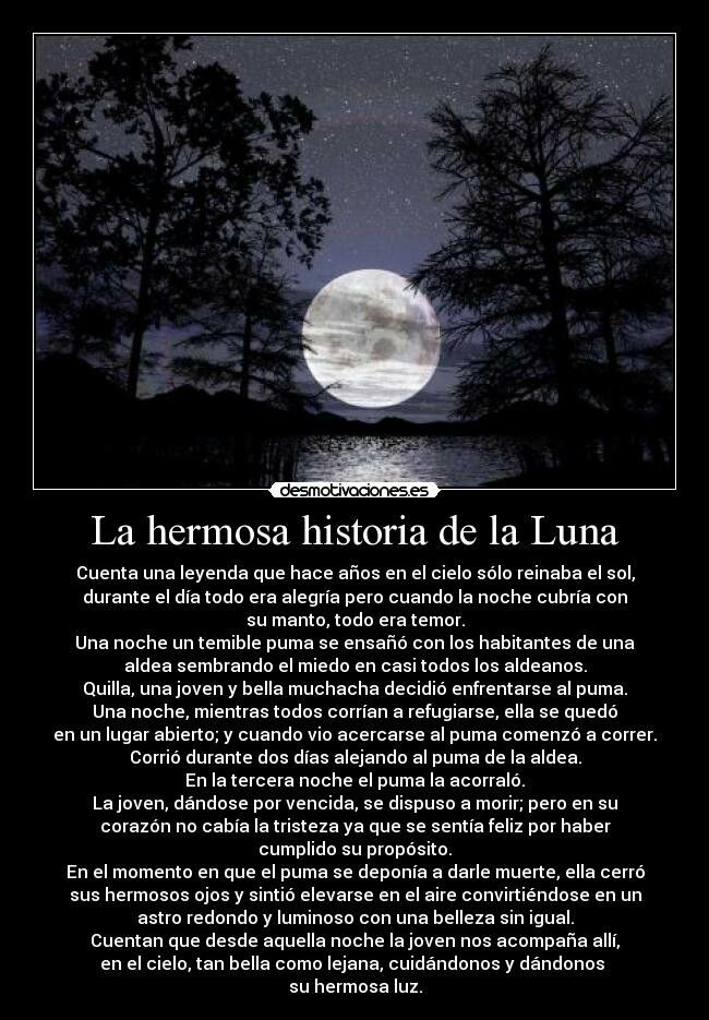La Hermosa Leyenda De La Luna Leyendas De La Luna Leyendas Luna