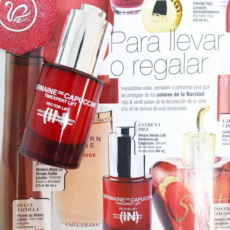 Red gifts #red #skincare #inspo #germainedecapuccini