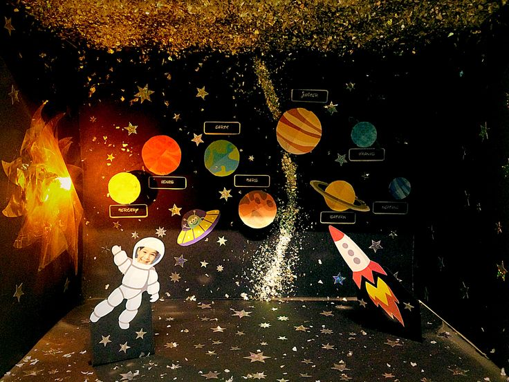 how to make a space project for school