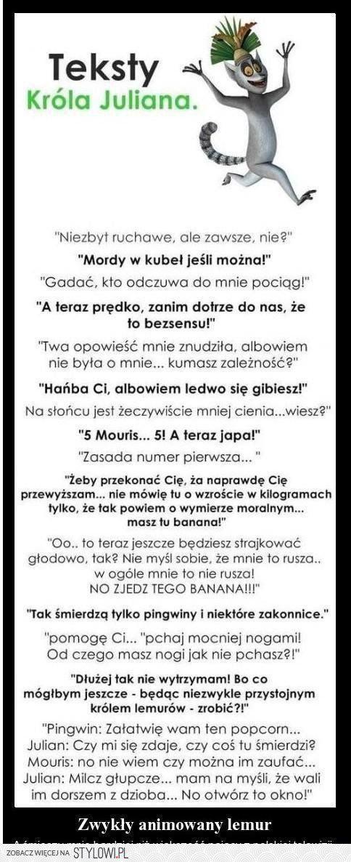 król Julian i Jego mądrości. na Stylowi.pl