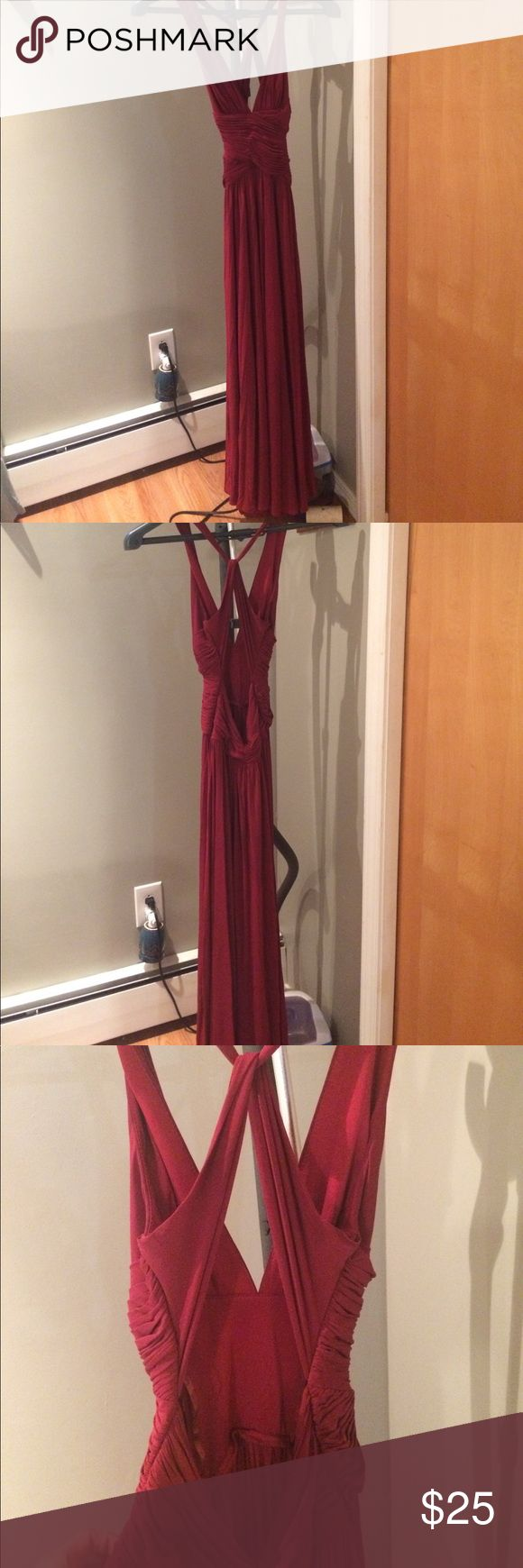 BCBG XS Red Dress for sale! BCBG XS Red Dress for sale! Perfect condition! Dresses Maxi