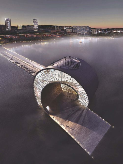 St. Petersburg Pier | BIG Location: Tampa, USA Status: Rejected Competition Proposal / Render - MIR