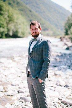groom gray suit серый костюм жениха