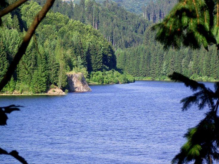 Hriňovská priehrada - Reservoir