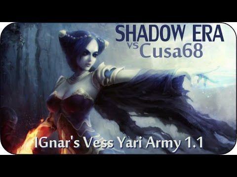 Shadow Era : Shattered Fates #9 - IGnar's Yari Army 1.1 ( Vess Swifthands ) vs Cusa68 ( Vess ) - YouTube  #shadowera #ccg #tcg #cardgame