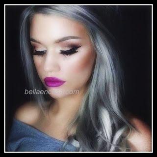 """Logra un cabello gris platinado con """" Grafito"""" - Bella en Casa"""