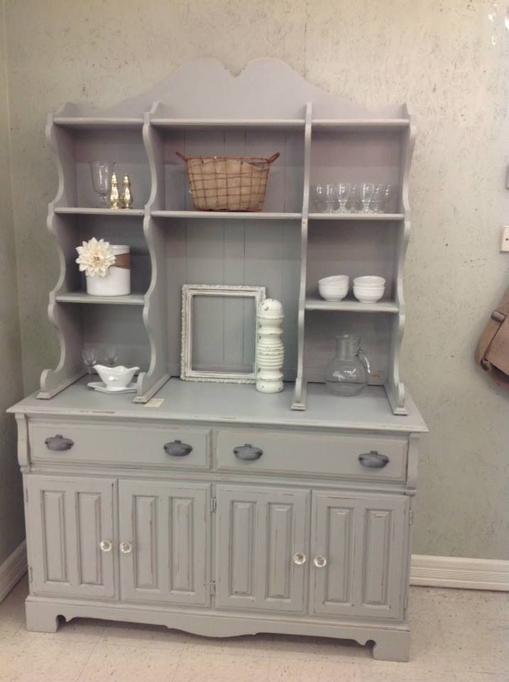 Rethunk Junk By Laura Makeover This Gorgeous Hutch Has