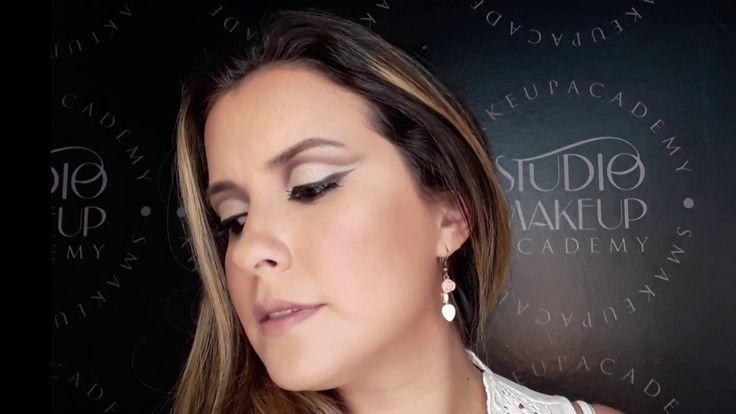"""""""Maquillaje para Navidad"""" Paso a paso de Cut Crease Abierto #cutcreasepasoapaso"""