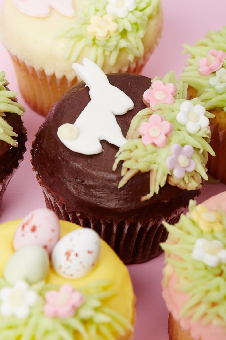 Keep your bunnies happy with these delicious handcrafted cupcakes!
