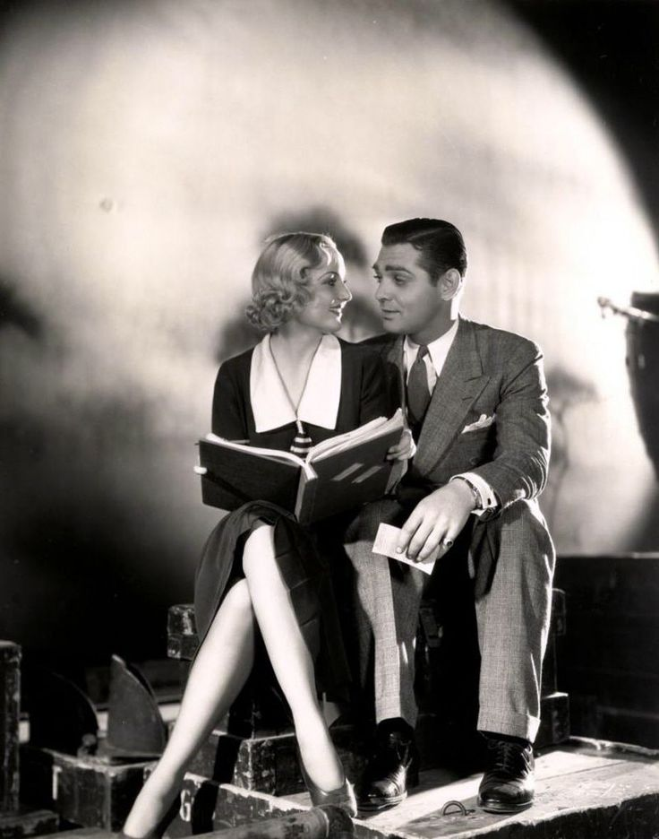 Carole Lombard & Clark Gable : Muses, Lovers | The Red List