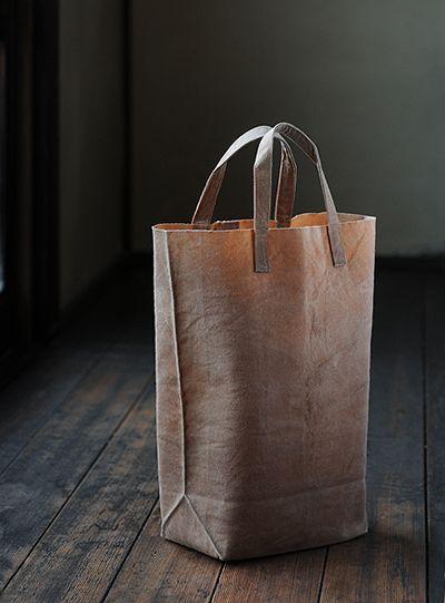 Canvas bag by Kazumi TAKIGAWA, Japan