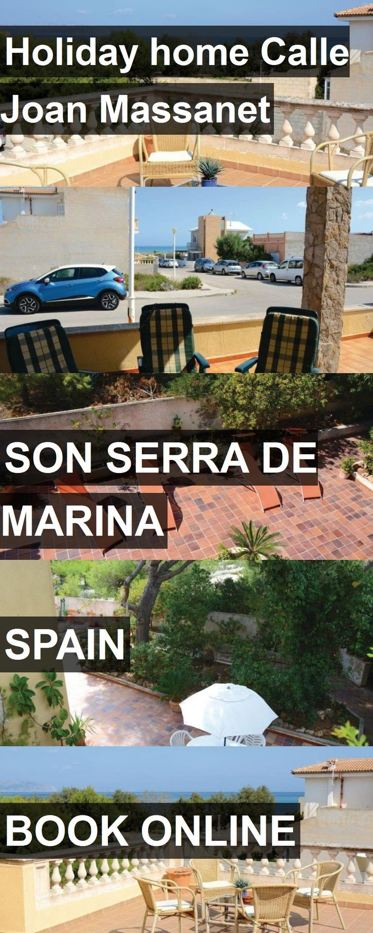Hotel Holiday home Calle Joan Massanet in Son Serra de Marina, Spain. For more information, photos, reviews and best prices please follow the link. #Spain #SonSerradeMarina #travel #vacation #hotel