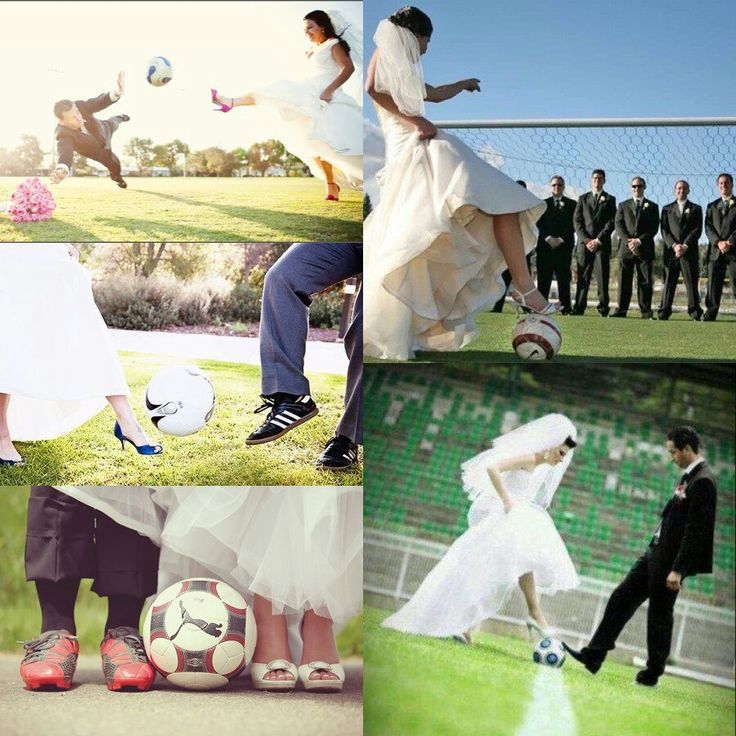 My dreamed soccer wedding. sports save the dates, baseball save the dates #wedding #sports