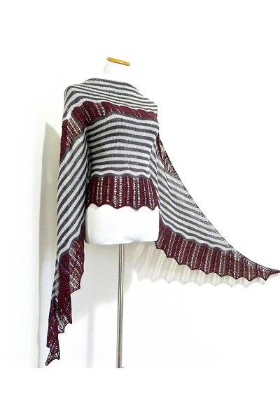 Ravelry: Marrakesh shawl in DyeForYarn Mulberry Silk Fingering - knitting pattern by Janina Kallio.