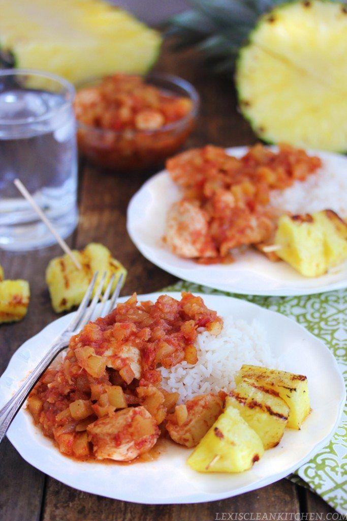 Pollo hawaiano paleo    Lexi cocina limpia