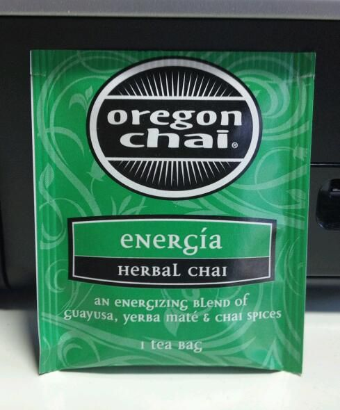 Oregon Chai Herbal Chai Energia