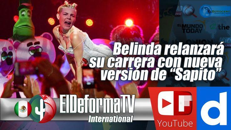 """Belinda relanzará su carrera con nueva versión de """"Sapito"""""""