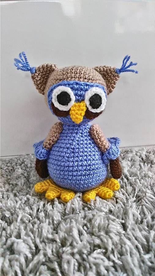 Jamin / sovička Niko  crochet owl