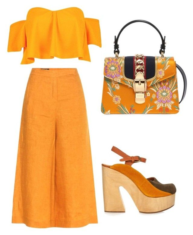 """""""Spring"""" by saryr on Polyvore featuring mode, Loro Piana, Boohoo, Rachel Comey et Gucci"""