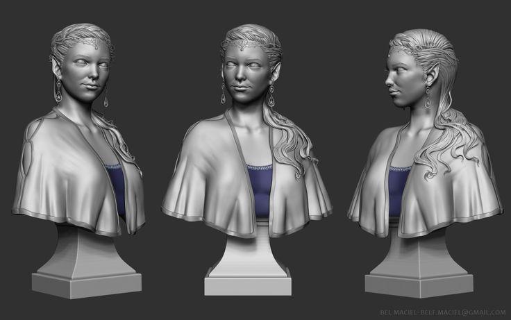 ArtStation - Elven Princess, Bel Maciel