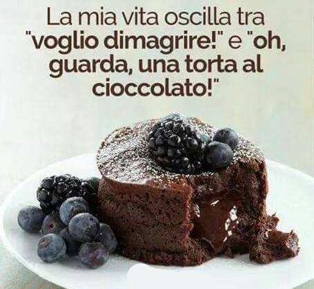 """E se io ti dicessi che col mio programma puoi mangiarti la torta al cioccolato  e perdere anche peso  cosa faresti? :)   Ebbene col mio #programma perdi peso mangiando :D   Se vuoi saperne di più scrivi """"SI"""" nei commenti o mandami un messaggio"""