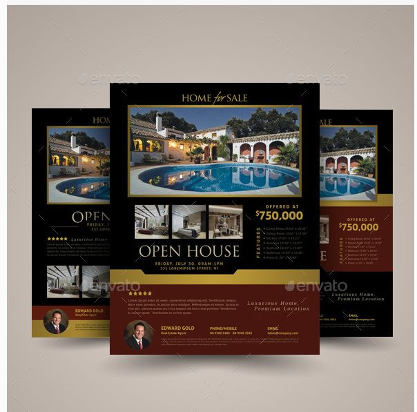 64 best Pubs images on Pinterest Real estate flyers, Flyer - open house flyer template
