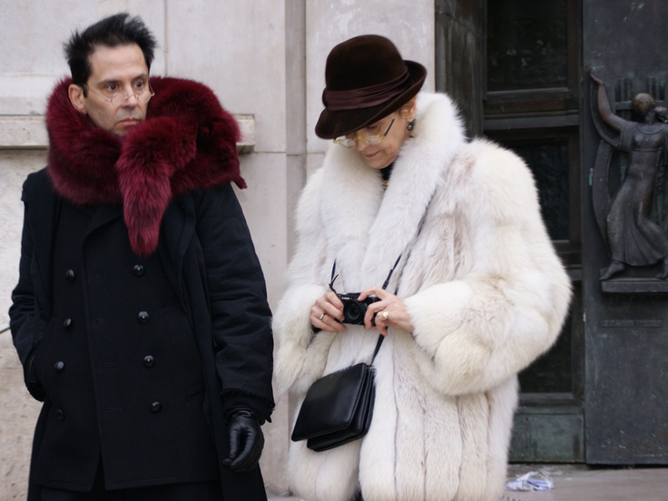 Los abrigos de pelo para ellos y para ellas es toda una tendencia. @rociomaestre