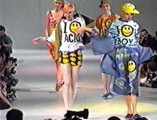 90 39 S Acid House Fashion On The Runway Uk Rave Culture