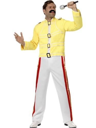 Freddie Mercury Costumes and Freddy Mercury Costumes for sale from Costume Direct! Be the one and only true legend that is Freddie Mercury in this awesome get up. Fast delivery guaranteed!