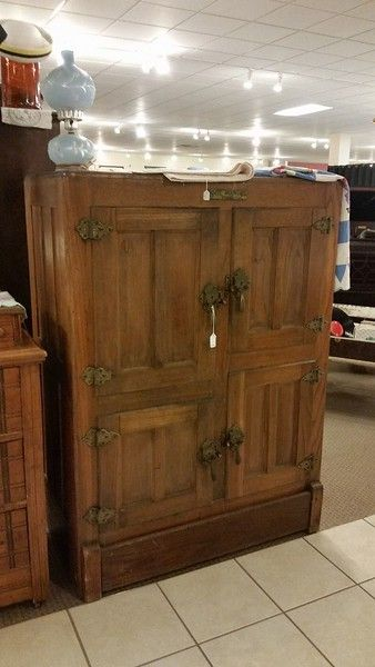 Old Ice Box - available for sale - July 2017 - Sell it Here - Lafayette IN - Old Furniture - for sale