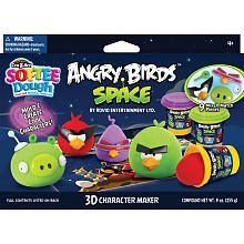 """Cra-Z-Art Softee Dough Angry Birds Space 3D Character Maker Playset - CRA-Z-ART - Toys """"R"""" Us"""