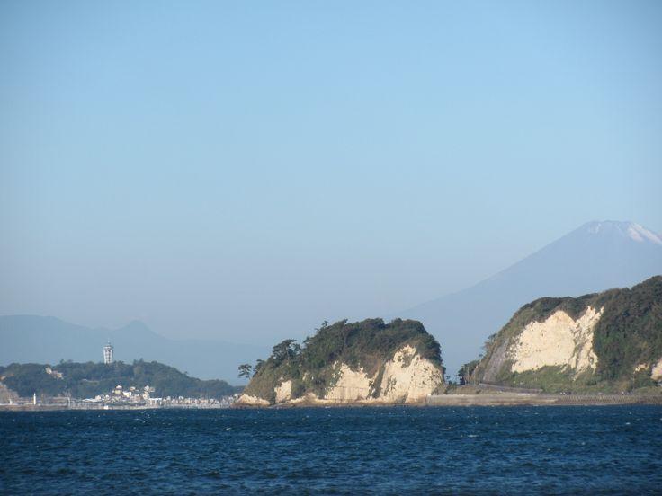 Inamuragasaki, Enoshima, Fuji