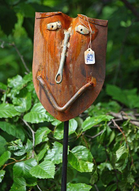 Alaskan scrap iron art at the 2011 Forest Fair in Girdwood (IMG_9686a) by Alaskan Dude, via Flickr
