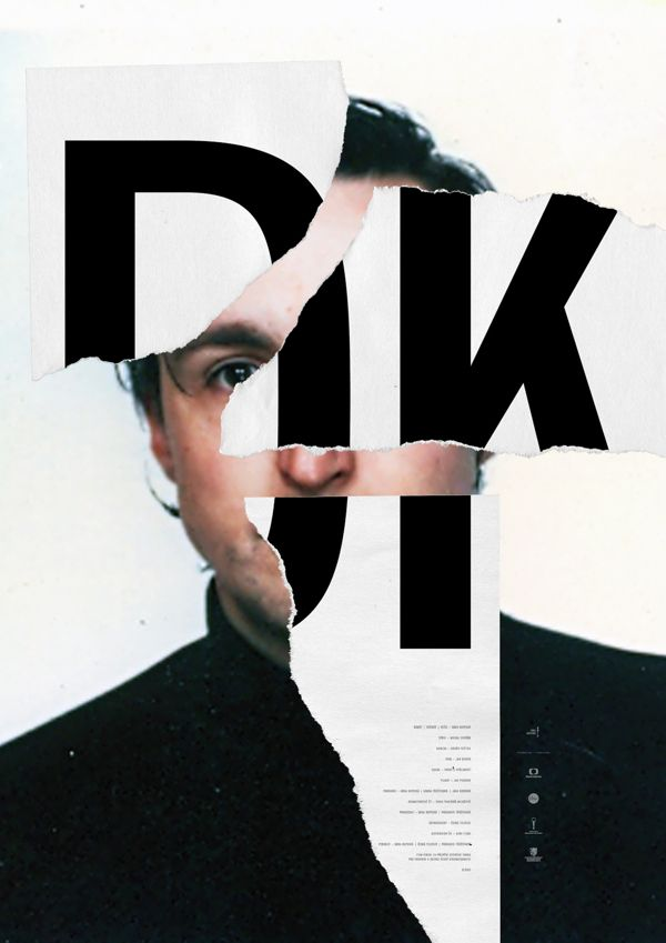DK - POSTER, TITLES, VISUAL on Behance