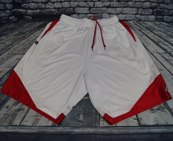 Nike dri fit air jordan flight basketball mesh gym shorts