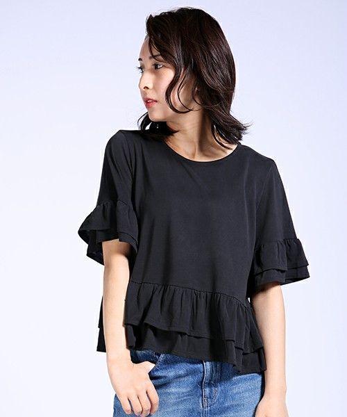 カットフリルカットソー(Tシャツ/カットソー)|FREAK'S STORE(フリークスストア)のファッション通販 - ZOZOTOWN