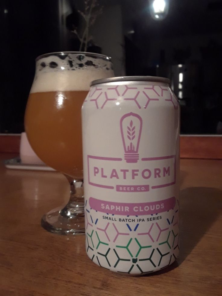 Saphir Clouds - One of Platform  Beer Companies Small Batch IPA Series - This is a brewery that has gotten my attention for their consistently excellent IPA brews.