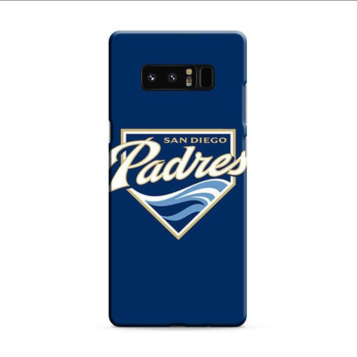 Sandiego Padres Baseball Logo Blue Samsung Galaxy Note 8 3D Case