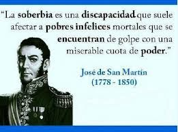 Image result for frases del general san martin sobre la patria