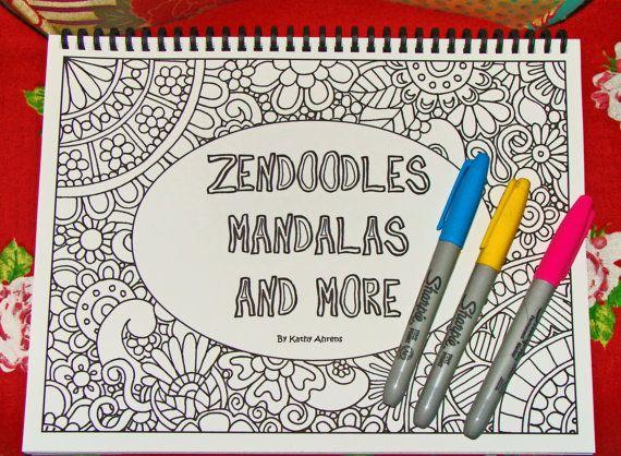 842 best Doodles - Zentangles images on Pinterest | To draw ...