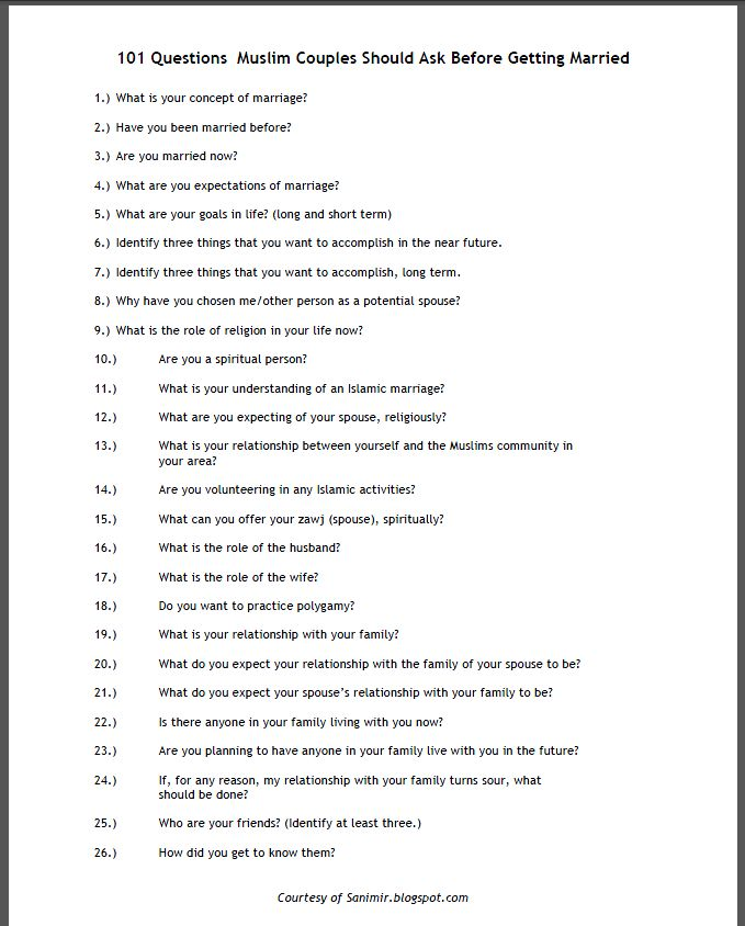 Best questions to ask in a relationship
