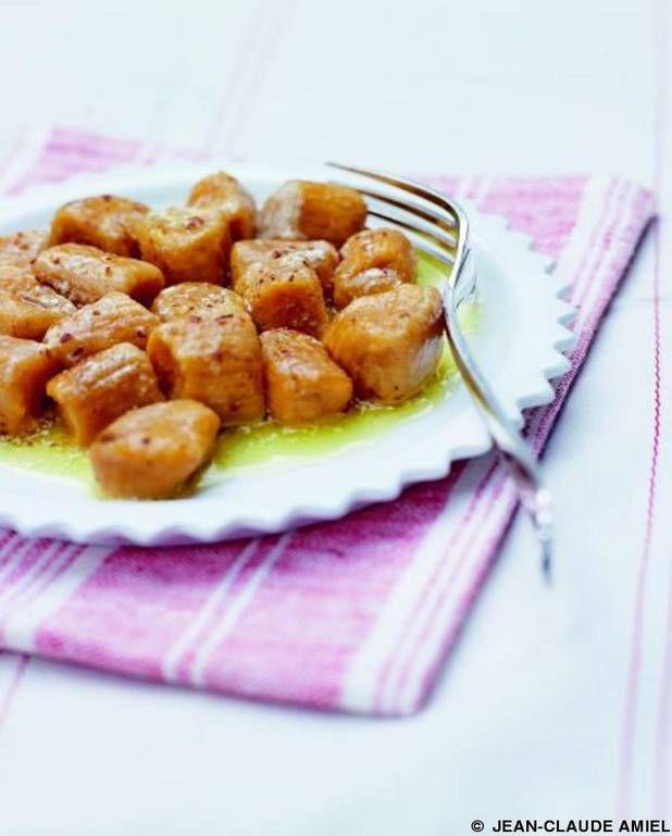 Gnocchis de patates douces pour 6 personnes - Recettes Elle à Table