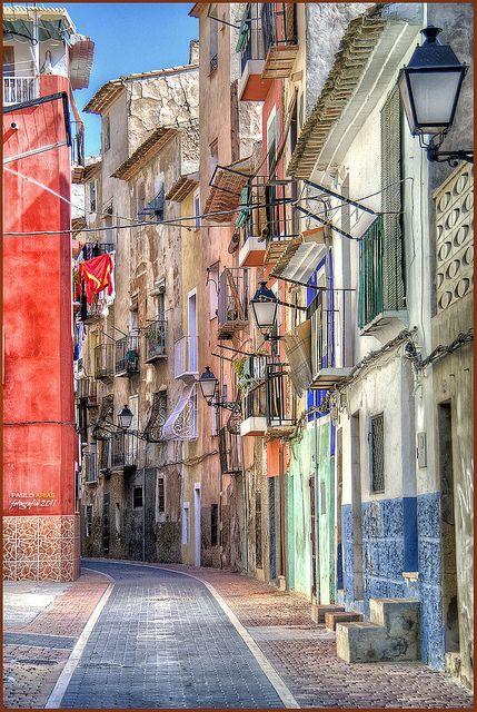 La Vila Joiosa, Valencia Spain - Need to make plans to visit my cousin over there. I will make my way there soon enough.