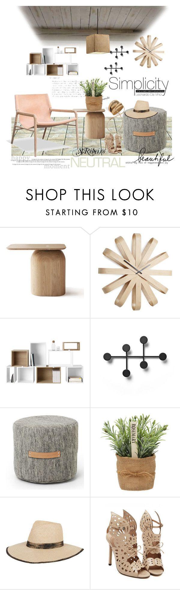 """Untitled #3254"" by sribeiro on Polyvore featuring interior, interiors, interior design, home, home decor, interior decorating, Umbra, Muuto, Menu and Design House Stockholm"