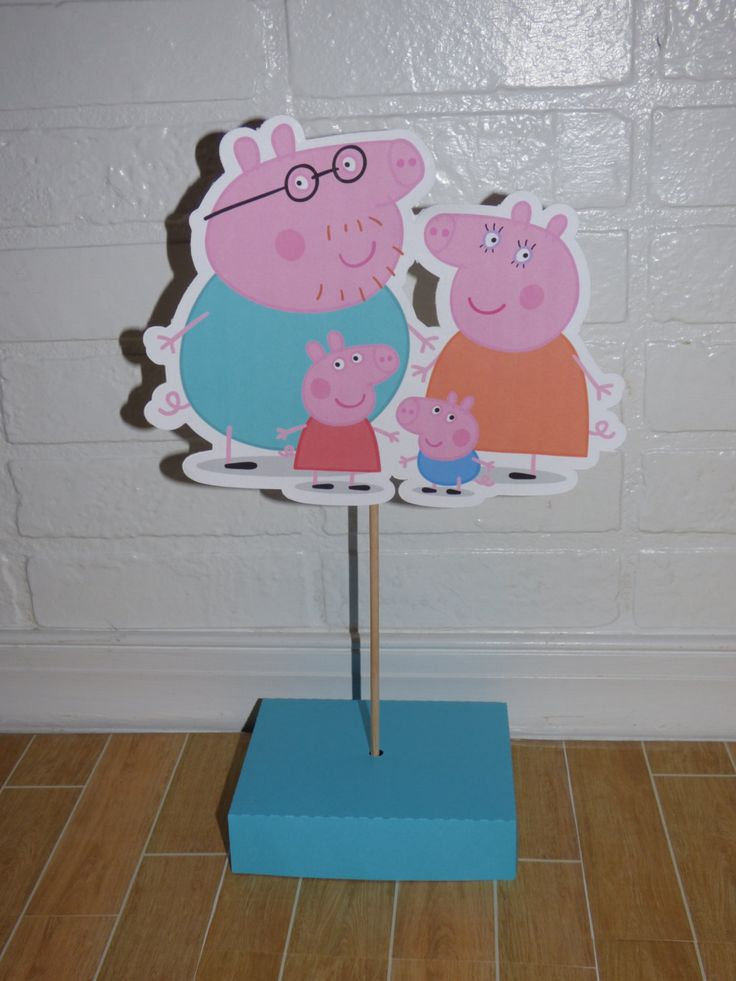 15 best peppa pig party ideas images on pinterest for Pig decorations for home
