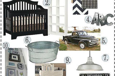 modern industrial boys nursery, bedroom ideas, design d cor
